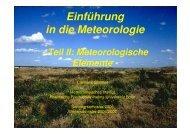 T - Meteorologisches Institut der Universität Bonn