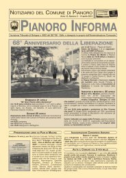 Anno 2013 n. 2 - Comune di Pianoro