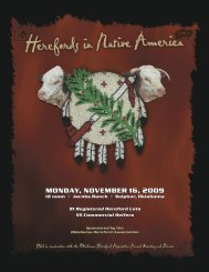 monday, november 16, 2009 - National Cattle Services, Inc.