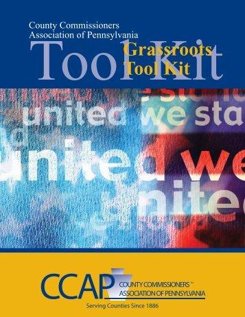 Legislative GrassRoots Tool Kit.indd - County Commissioners ...