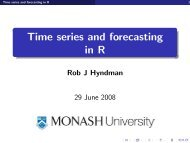 Time series and forecasting in R - CiteSeerX