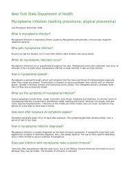 Mycoplasma Infection (walking pneumonia, atypical ... - the Exchange