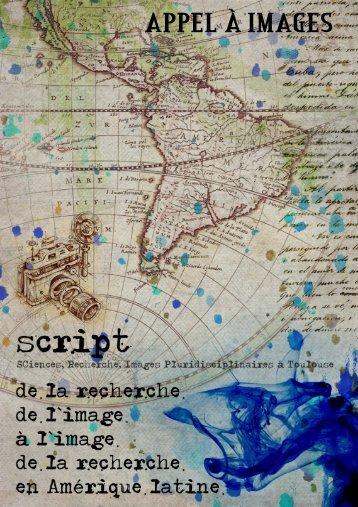 Appel a diaporama commenté SCRIPT - Réseau Amérique Latine