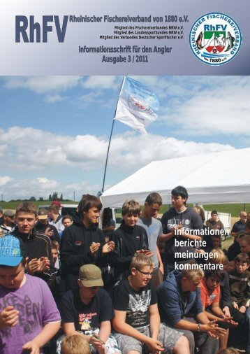 Verbandsjugendzeltlager 2011 - Rheinischer Fischereiverband von ...