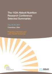 Selected Summaries - Abbott Nutrition