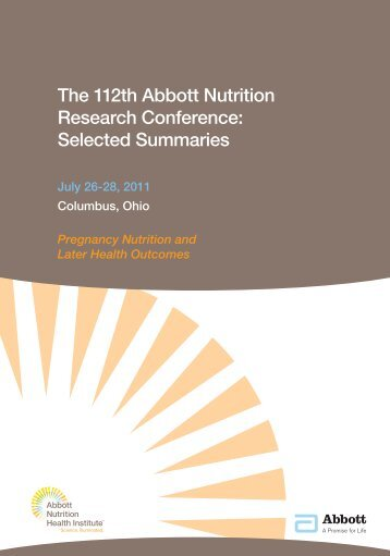 Selected Summaries - Abbott Nutrition