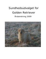 Årsberetning 2009 SU - Golden Retriever Danmark