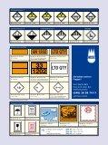 Gefahrzettel, Kennzeichen für Gefahrstoff und Transportschutz ... - Seite 3