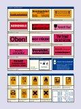 Gefahrzettel, Kennzeichen für Gefahrstoff und Transportschutz ... - Seite 4