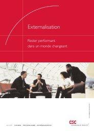 Externalisation : rester performant dans un monde changeant - CSC