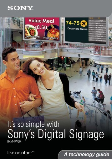 Digital Signage Technology Guide - PALME Middle East