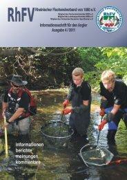 Stiftung Wasserlauf aktuell - Rheinischer Fischereiverband von ...