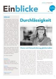 Einblicke 1 2012.pdf, pages 1-8 - Einstieg.com