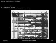 8. Strategies of the Void Rem Koolhaas, Jussieu Libraries - Drawing ...