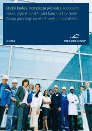 Etický kodex. Komplexní průvodce souborem ... - The Linde Group