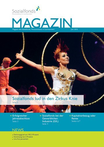 Sozialfonds Magazin Juni 2012 - Sozialfonds Pensionskasse in ...