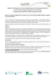 Programma Progetto ERASME - CNA Emilia Romagna