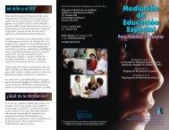 Mediación de Educación Especial Mediación de ... - Direction Service