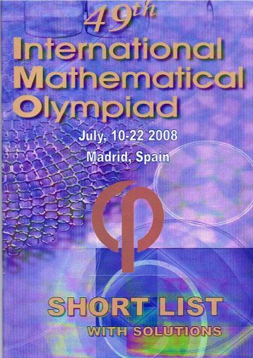 math olympiad problems Find and save ideas about math olympiad on pinterest | see more ideas about math olympiad problems, best brain teasers and math olympiad questions.