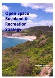 Open Space Bushland & Recreation Strategy - Pittwater Council