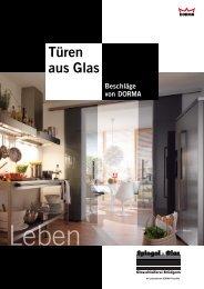 Türen aus Glas - Glasschleiferei Brüdgam