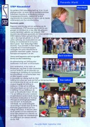 Nieuwsbrief juni 2003 - Step