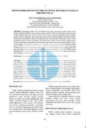 sistem berbasis pengetahuan untuk kenaikan ... - Stiki Indonesia