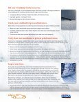 Checklist and Tips for Safe Winter Driving - NHTSA - Page 2
