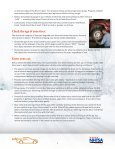Checklist and Tips for Safe Winter Driving - NHTSA - Page 3