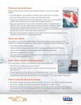 Checklist and Tips for Safe Winter Driving - NHTSA - Page 4