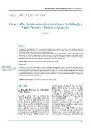 REVISÃO DA LITERATURA Factores Contribuintes para o ... - APF
