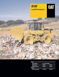 Specalog for 816F Landfill Compactor, AEHQ5487-03 - Kelly Tractor