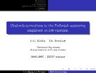 Coulomb corrections to the Delbrück scattering amplitude at low ...