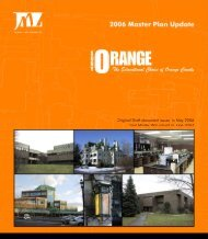 Master Plan Update - SUNY Orange