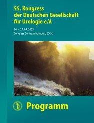 Programm - Urologenportal