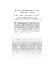 Hydrometra Simulation for VR-Based Hysteroscopy Training