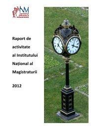 Raportul de activitate al INM pentru anul 2012.pdf - Institutul ...