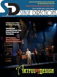 Download a PDF - Stage Directions Magazine