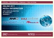 Online 2011 Media-information