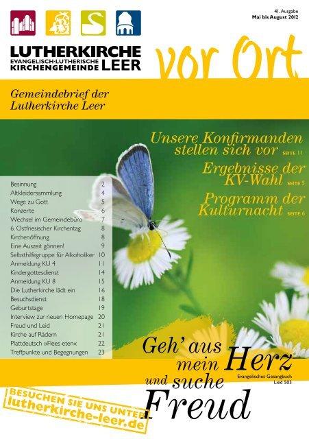 Nr. 41 – »Geh' aus mein Herz und suche Freud - Lutherkirche Leer