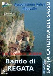 Bando - AVM - Associazione Velica Monvalle