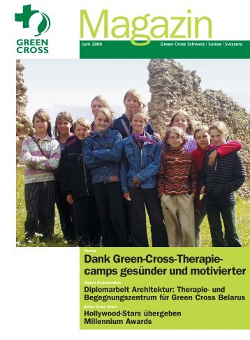 Magazin 02/2004 - Green Cross Schweiz