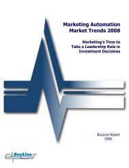 Marketing Automation Market Trends 2008 - Marketo