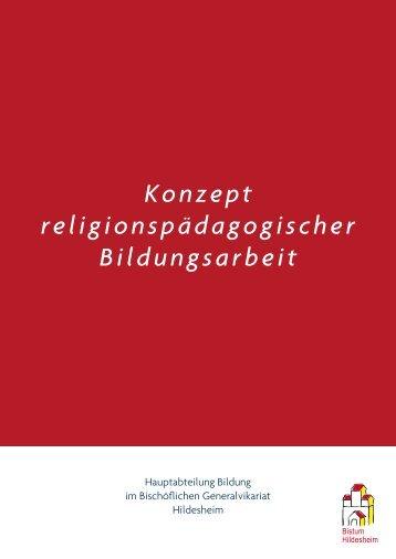 Konzept religionspädagogischer Bildungsarbeit