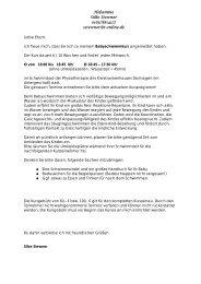 Babyschwimmen mit Silke Stewner Nicht barrierefrei, Flyer, PDF