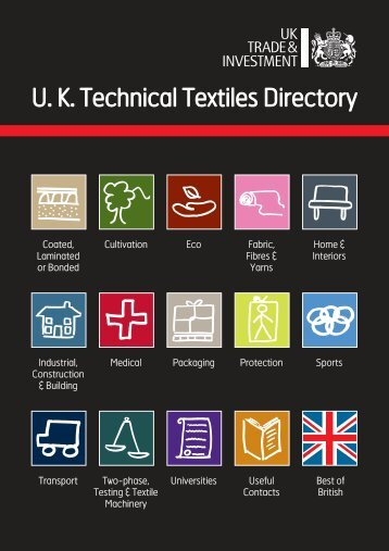 UK Technical Textiles Directory - Updated - UKFT