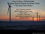 The Iowa Case Study - Wind Powering America