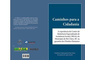 Caminhos para a Cidadania - Prefeitura Municipal de Rio Claro