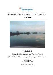 Hochwasservorhersage-System Polen - Institut für Wasserbau und ...