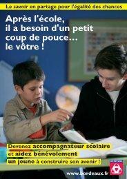 Devenez accompagnateur scolaire bénévole - Bordeaux